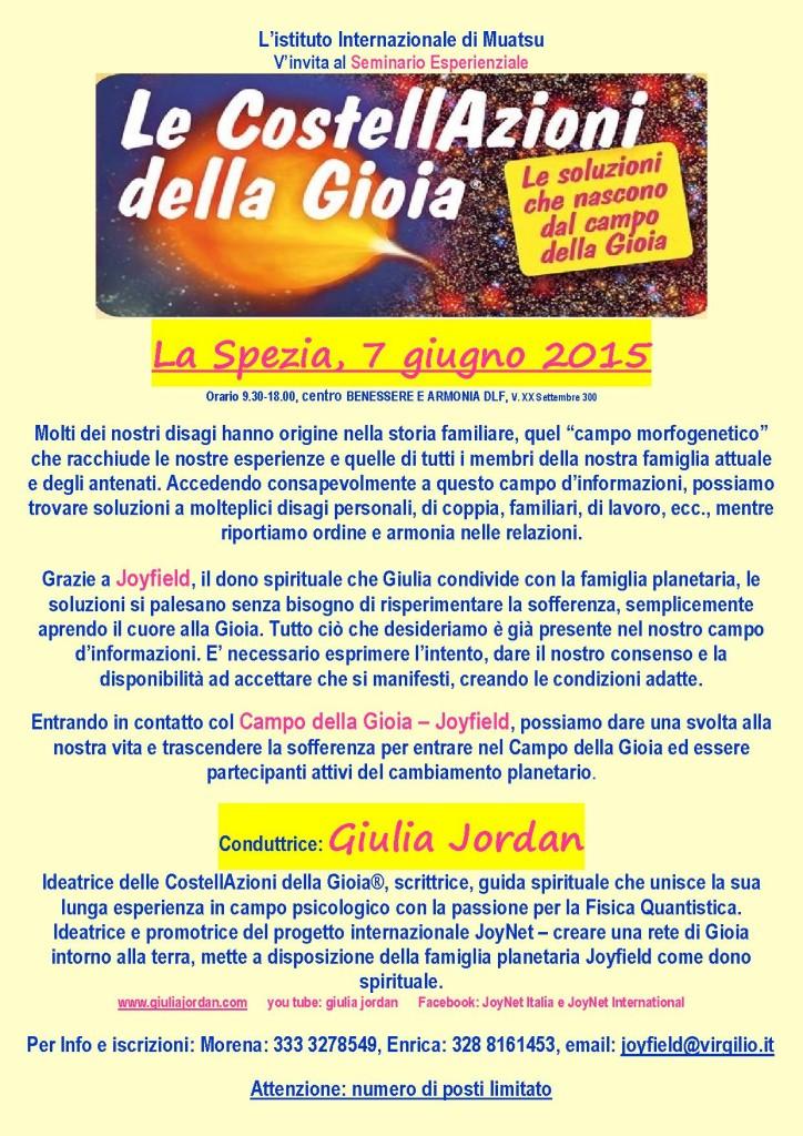 Le CostellAzioni della Gioia a La Spezia