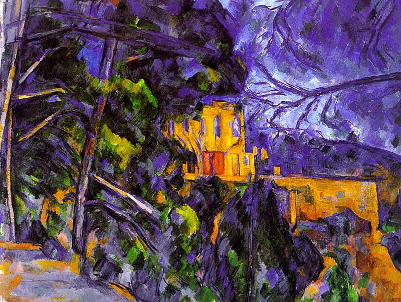 Le-Chateau-Noir-Paul-Cézanne