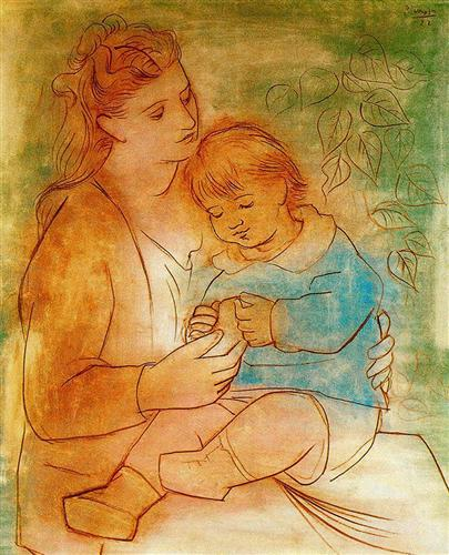 mother-and-child-pablo picasso