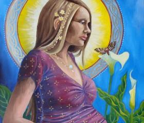 """""""Tu sei la custode delle generazioni, tu sei colei che dà la vita"""" disse il Sole alla donna. """"Tu sorreggerai questo Universo"""". Canto Sioux"""